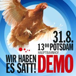 Wir haben es satt! Demo in Potsdam